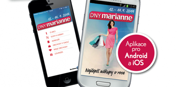 Dny Marianne 2014  Nakupujte chytře s chytrým telefonem  61fcf88491
